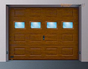 Zasteklitev garažnih vrat 1 - Skupni elementi