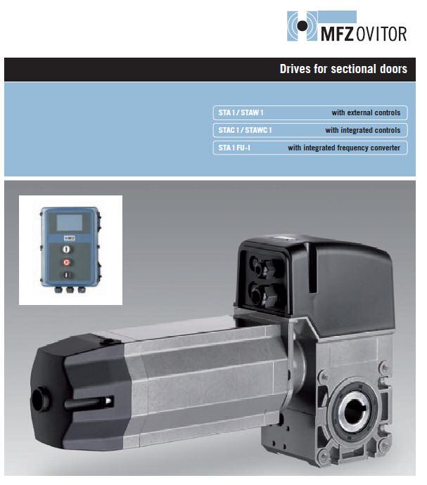 Pogoni in avtomatika industrijskih vrat - MFZ Ovitor