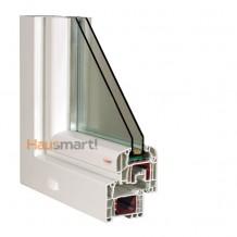 PVC okna Aluplast Ideal 4000 Roundline poloha 1