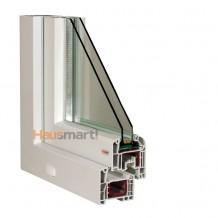 PVC okna Aluplast Ideal 4000 poloha 1