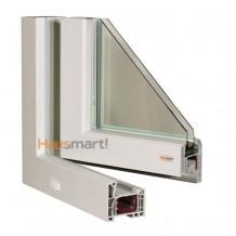PVC okna Aluplast Ideal 4000 poloha 2