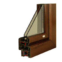 PVC okna Corona CT 70 Cava